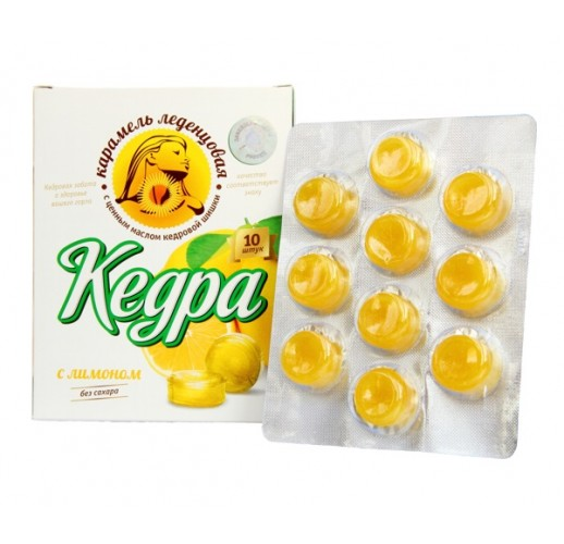 Kerda throat lozenges (RCoR) / lemon