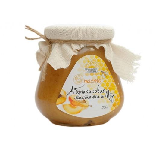 Apricot kernel urbech / honey, 300 g