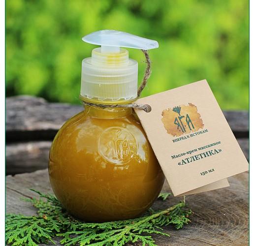 «Athletics» massage oil, 150 ml