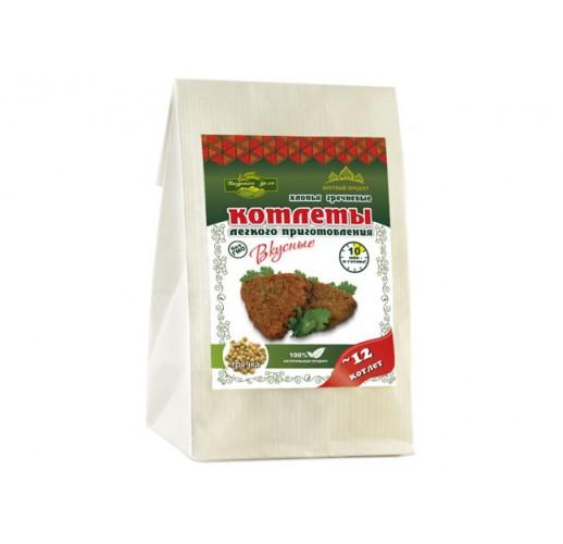Buckwheat cutlets with garlic, 230 g