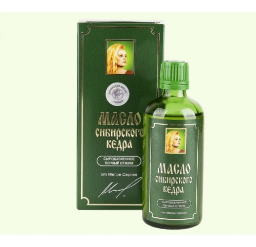 Cedar nut oil (RCoR brand)
