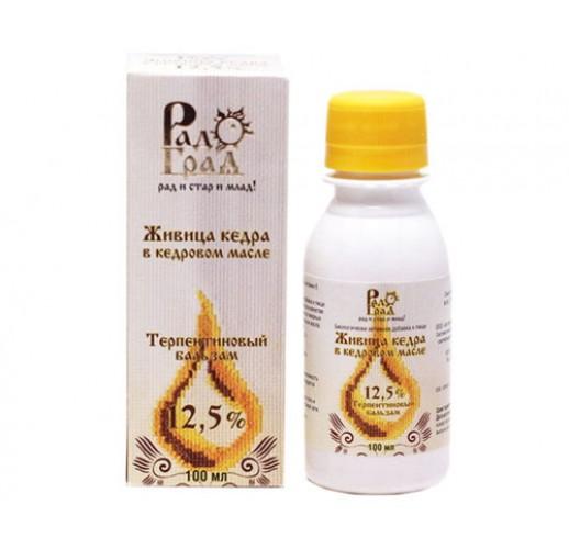 Cedar resin (12.5%), 100 ml