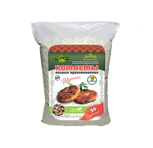 Chickpeas cutlets, 500 g
