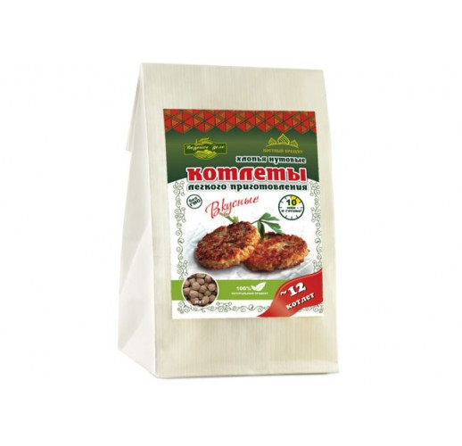 Chickpeas cutlets with asafoetida, 230 g
