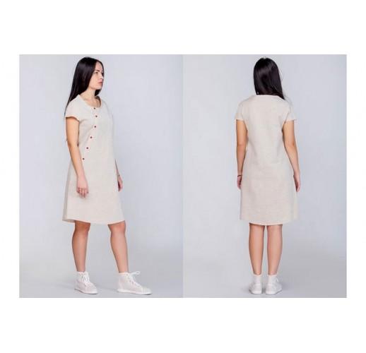 "Hemp dress ""Asymmetry"""