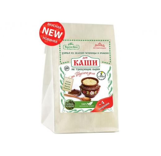 Green lentils / barley porridge mix, 175 g