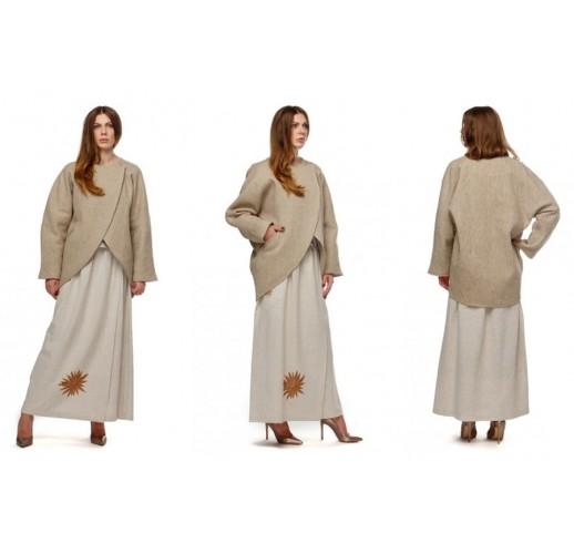 """Hemp coat """"Zen"""""""
