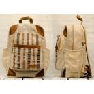 """Hemp backpack """"Narantan"""""""