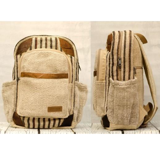 """Hemp backpack """"Narantan-2"""""""