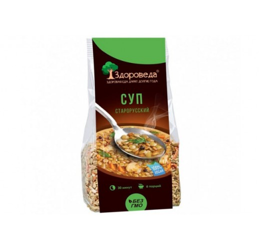 Old Russian soup mix, 250 g