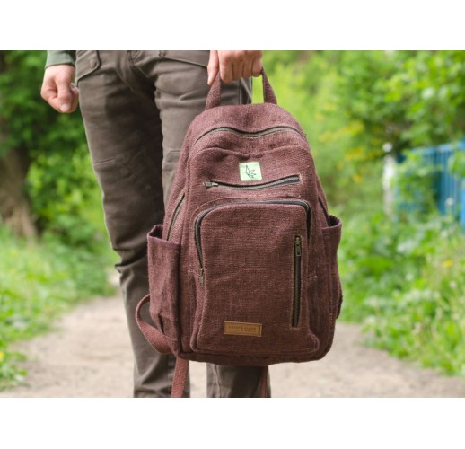 "Hemp backpack ""Patan"""