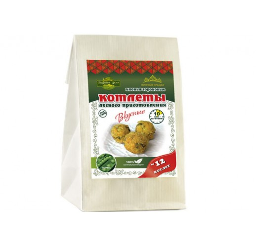 Pea cutlets with asafoetida, 230 g