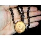 Cedar pendant on cedar nuts (RCoR)