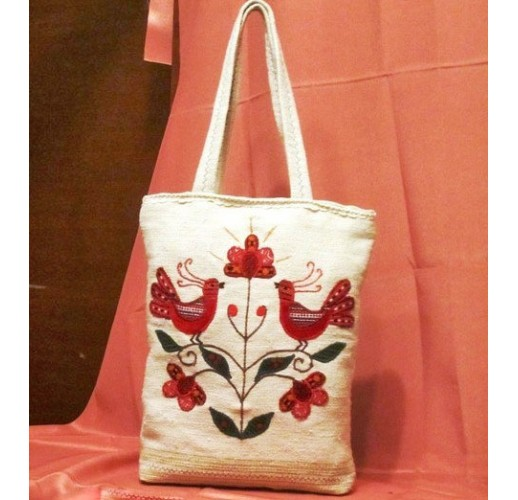 "Handbag ""Singing birds""-2"