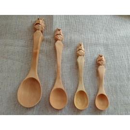 """Set of 4 spoons """"Bears"""""""