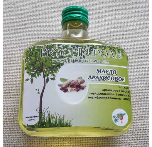 Peanut oil, 240 ml