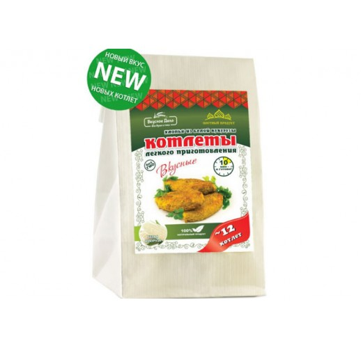 White corn cutlets with asafoetida, 230 g