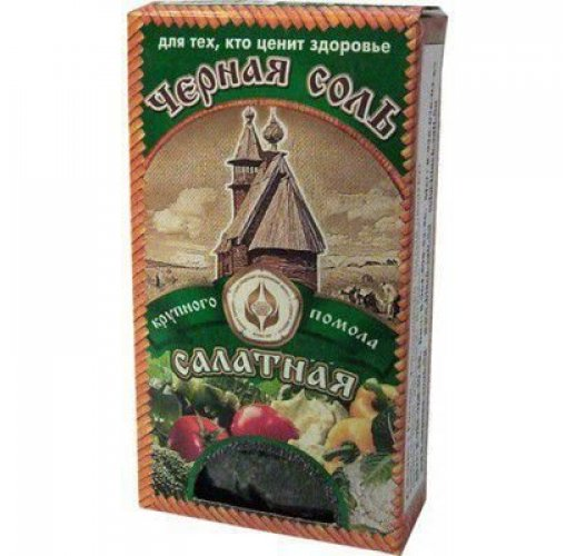 Russian black salt, 100 g