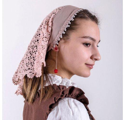 Beige headscarf