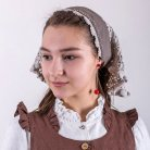 Chocolate headscarf