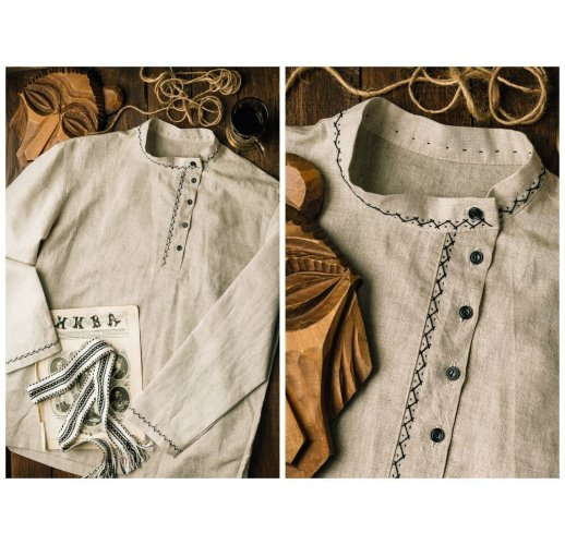 Slavic shirt for man