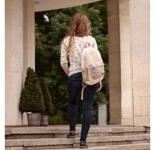 "Hemp backpack ""Tamel"""