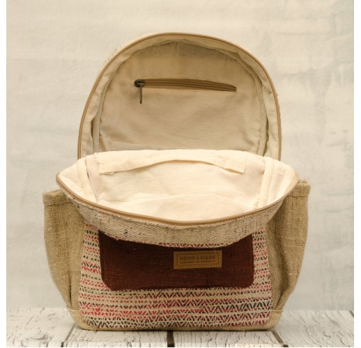 "Hemp backpack ""Tamel-3"""