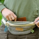 "Hemp bum-bag ""Calimati-blue"""