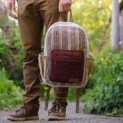 "Hemp backpack ""Tamel-3"""