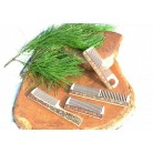 Birch comb with handle