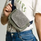 Hemp bum bag Chatrapati-diamond