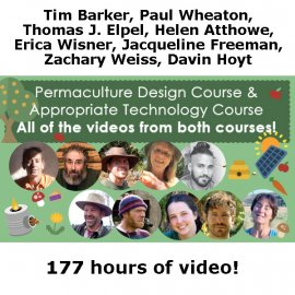 Permaculture Design + Appropriate Technology course (download)