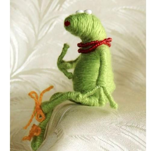 Glamorous frog