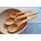 Set of 3 cedar spoons (15-20-24 cm)