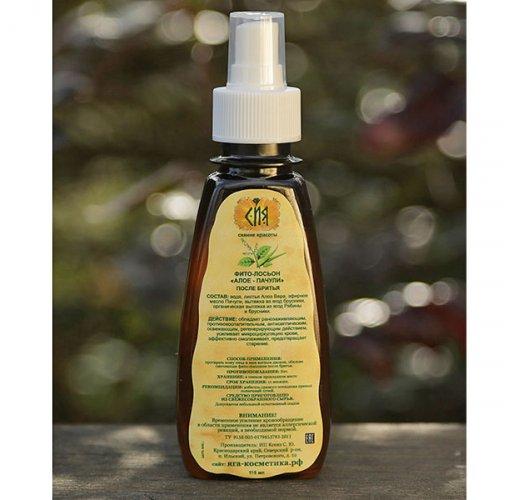 Aloe-Patchouli phyto-lotion, 115 ml
